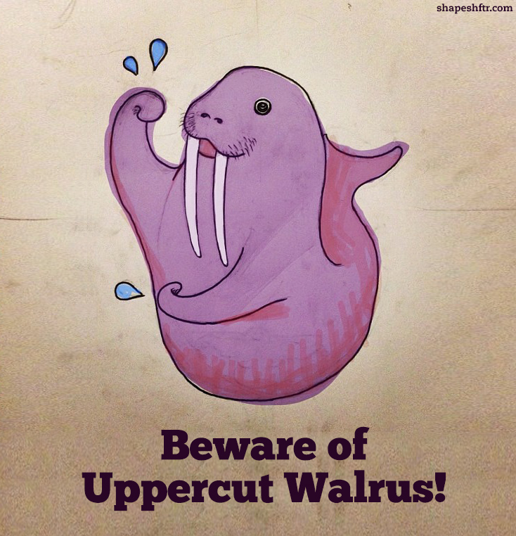 Uppercut_walrus_shapeshftr_daily_drawings