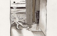 mr_octopus_comes_home_to_find_the_remote_in_the_cranny_peter_kawecki_ink_drawing_shapeshftr