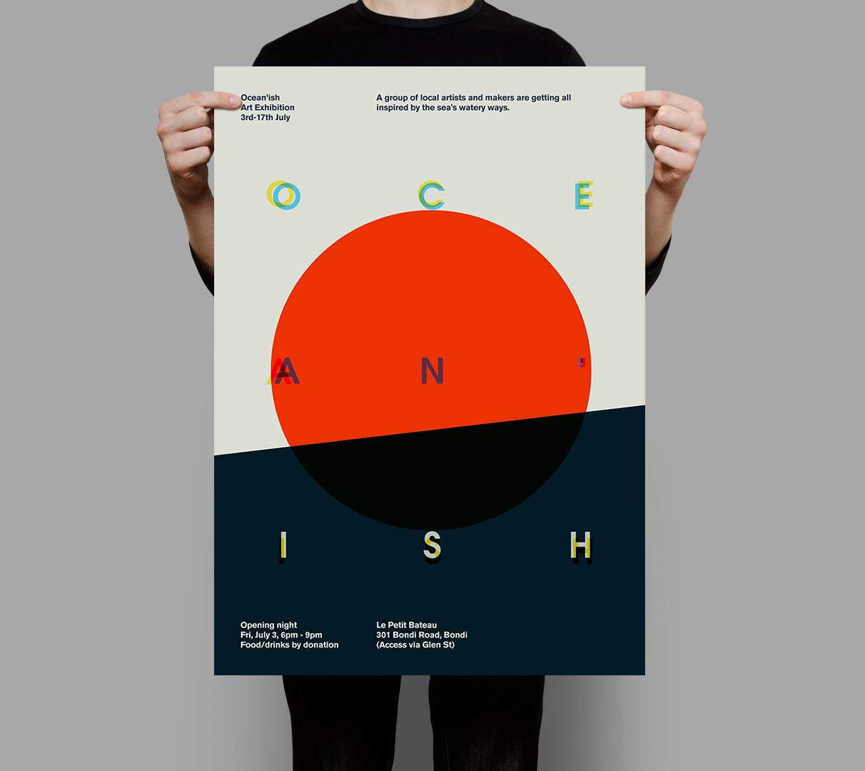 Poster design exhibition - Author