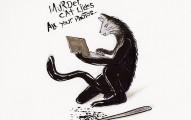 murder_cat_Shapeshftr_peterkawecki_ink_drawing